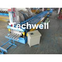 Best Galvanized Steel Floor Deck Roll Forming Machine for Making Steel Structure Floor Decking Panel wholesale