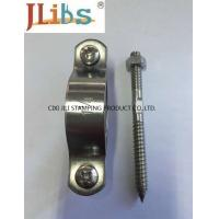 Quality Width 20mm 30mm Cast Iron Pipe Clamps Coupling Welded Metal 4 Inch Pipe Clamp Plain wholesale