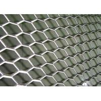 Best Rhombus Hole Expanded Metal Mesh Hot Dipped Galvanized Surface Thickness 4mm wholesale