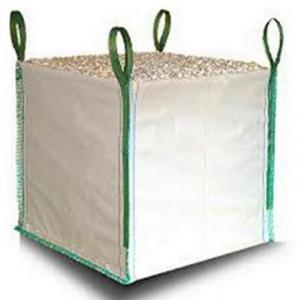 Best White One Ton PP Woven Gravel Bulk Bag For Builder Construction Use wholesale