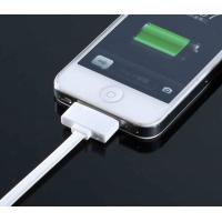 Best 1 Meter White IPhone USB Charger Cable 2.0 For iPhone 5 / Iphone 4 And IPAD 2 wholesale