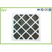 Best Folded Activated Carbon Air Filter High Carbon Content With Aluminum Mesh Face Guard wholesale