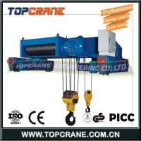 China Good quality Demag type electric wire rope hoist for single beam crane/double girder crane 16ton 25 ton on sale
