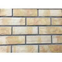 Quality 3D12-1 Interior Thin Lightweight Brick Veneer , Outdoor Artificial Brick Tiles For Walls wholesale