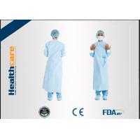Buy cheap Dark Green Non Woven Surgical Gown , Disposable Lab Gowns Lightweight Blood Proof from wholesalers