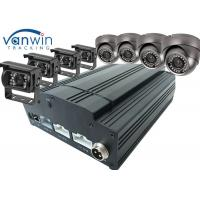 Best Fuel Tank Monitoring 3G / 4G GPS Wifi 8ch Mobile DVR CCTV , HDD SSD MDVR With Cameras wholesale