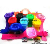 Best Wholesale Colorful Silicone Strap Watch for young wholesale