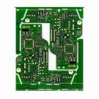 China FR-4 Double-sided PCB with Immersion Gold Finish, 2oz Copper Thickness and 0.2mm Line Spacing on sale