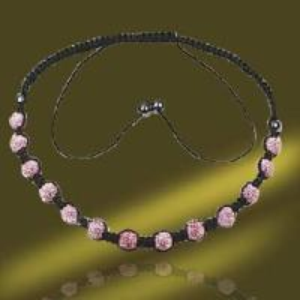 Best Shamballa Tresor Paris Necklace With Crystal Ball (NSL0001C-40cm) wholesale