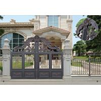 Best Villa Aluminum Electric Garden Door Opening Type With Remote Control Motor Shaft 4.5m wholesale
