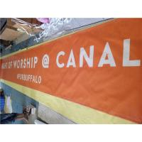 Best Full Color Pvc Mesh Banner Printing 9*9 Small Hole For Fence Wraps wholesale