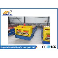 Best 15-20m/min Glazed Roof Tile Roll Forming Machine For Industrial / Civilian Constructions wholesale