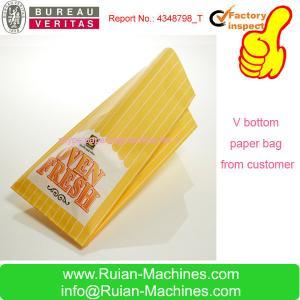 China paper bag sealing machine on sale