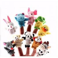China Professional Interactive Family Finger Puppets Stuffed Plush Cloth Doll on sale