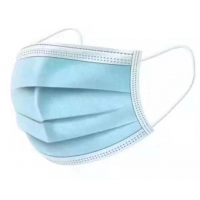 Best Blue Green Non Woven Fabric Face Mask , 3 Ply Surgical Face Mask wholesale