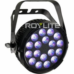 Best 6 DMX Ch Studio LED Par Cans , RGBW No Fan Quiet LED Wash Lights wholesale