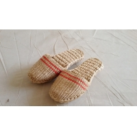 Best 100% hand woven grass shoes , rush shoes, slipper wholesale