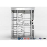 Cheap Single Channel Full High Turnstile / High Security Turnstile with 304 Stainless Steel Housing for sale