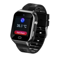 Best Elderly People smart watch With SIM Android OS 4G GPS tracking SOS GEO heart rates monitor, temperature monitor wholesale
