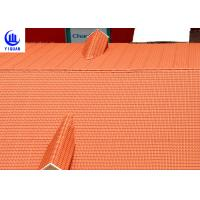 Best Coloured Glaze Asa Upvc Synthetic Resin Roof Tile 2.5mm thickness Bamboo Design wholesale