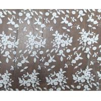 Best 125cm Polyester White Embroidered Mesh Lace Fabric For Wedding Dress Wholesale wholesale