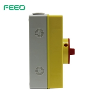 Best FAIS 690VAC 32A Waterproof Isolator Switch Yellow IP66 Protect Level wholesale