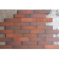 Best Outdoor Decorative Thin Clay Bricks Extruded / Sintered For Building Facade wholesale