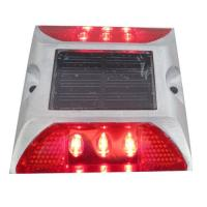 Best Die Casting Aluminum Solar LED Road Stud 6 LEDS Powered By Mono Crystalline Solar Panel wholesale