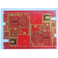 Best Red Solder Mask Prototype High Density Interconnect HDI PCB High TG Material 20 Layer wholesale