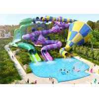 Best Adult Spiral Swimming Pool Slide wholesale