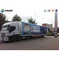 Best Mobile Truck 7D Movie Theater Cinema Equipment Special Effect Luxury Motion Chairs wholesale