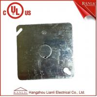 Best Electrical Square Conduit Box Cover UL Listed File Number E349123 With Knockout wholesale