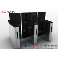 Best Access Control Turnstile Security Gates Tempered Glass Sliding Material wholesale