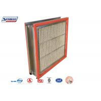 Buy cheap 300 Degree High Temp Resistant Industrial Air Purify Hepa Air Filters from wholesalers
