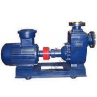 China CYZ Self priming centrifugal oil pump for fuel oil/horizontal/bronze impeller/explosion-proof motor on sale
