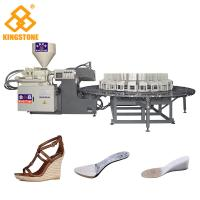 Best 200-280 Pairs Per Hour Shoe Sole Making Machine For Wedge Heel Sandals / Boots wholesale