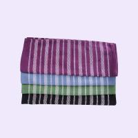Best Stripe Pattern Standard Size Cotton Kitchen Tea Towels / Cleaning Cloth For House wholesale