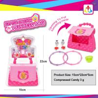 Best Princess bag with press candy 3g for girls wholesale