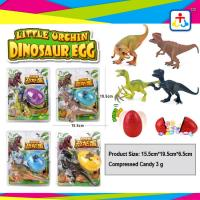 Best Suprise egg press candy with dinosour toys for kids wholesale
