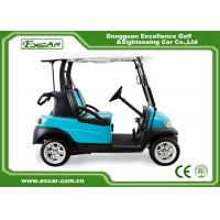 Best 48V Electric Golf Car With Aluminum Chassis 2 Person Special Disc Brake wholesale