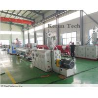 Best PE Pipe Extrusion Line / Water Supply Pipe Production Machine wholesale