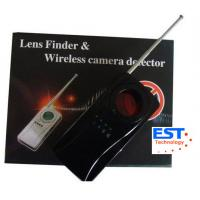 Best Vibrating Alarm Wireless Bug Camera Detector , IR Ray Specially Filtrated Len wholesale
