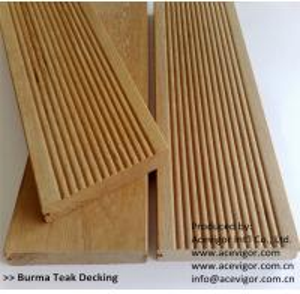 Buy cheap Outdoor Burma Teak decking from wholesalers