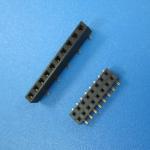 Best UL/ROHS 10 pin single row female socket pin header 1.27 mm spacing 1*10P female to female header pin wholesale