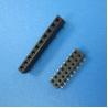 Buy cheap UL/ROHS 10 pin single row female socket pin header 1.27 mm spacing 1*10P female to female header pin from wholesalers