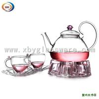 Best Pyrex glass coffee teapot and cup sets wholesale