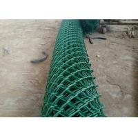 Best PVC Coated Chain Link Fence For Playground Decorative 6 Foot Chain Link Fence wholesale
