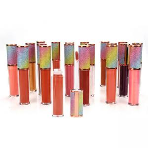 Best MSDS Makeup Long Lasting Private Label Glitter Lip Gloss wholesale