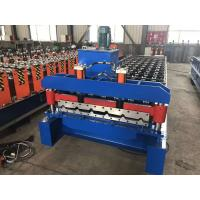 Best PPGI Or PPGL Roofing Sheet Roll Forming Machine , Colourful Automatic Roll Forming Machine wholesale