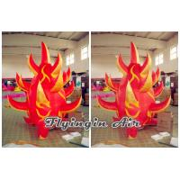 Best Customized 2m Height Red Inflatable Fire for Stage Decoration wholesale